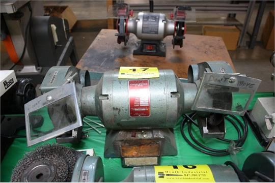Wilton Challenger Double End Grinder Model 160 1 2 Hp 3 450 Rpm