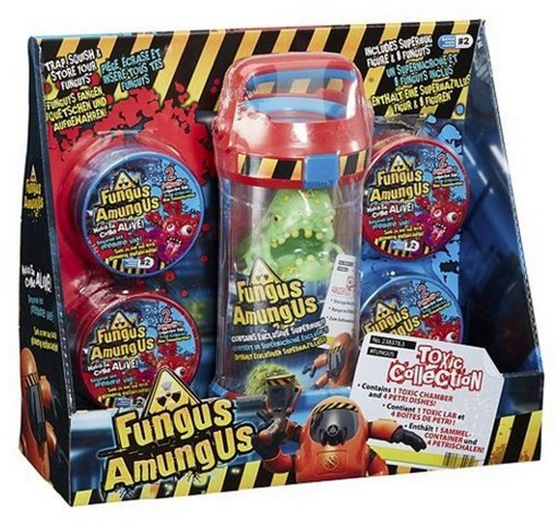 Lot 10048 - V Brand New Fungus Amungus Toxic Collection ISP Up To £24.99 (Ebay)