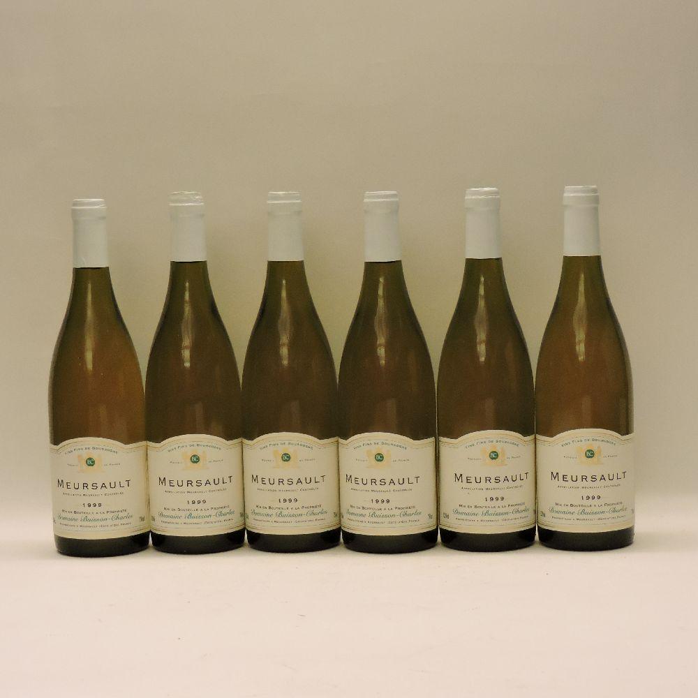 Lot 14 - Meursault, Domaine Buisson-Charles, 1999, eighteen bottles (three boxes of six bottles)
