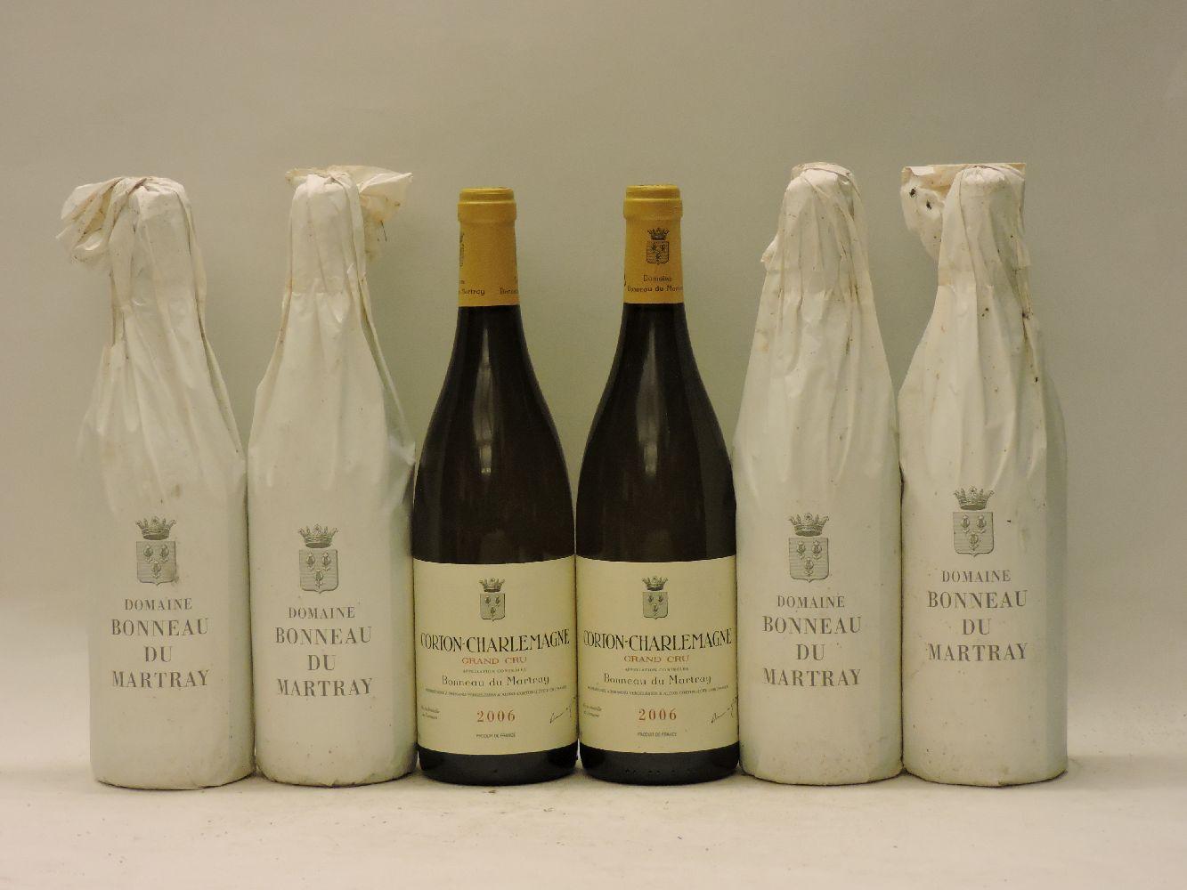 Lot 32 - Corton-Charlemagne Grand Cru, Domaine Bonneau du Martray, 2006, six bottles (owc, originally for