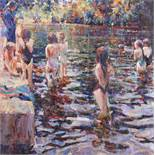 THE SWIMMING LESSON by Arthur Maderson
