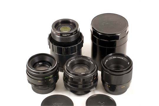 Uncommon Russian INDUSTAR-61 & Other M42 Standard Lenses