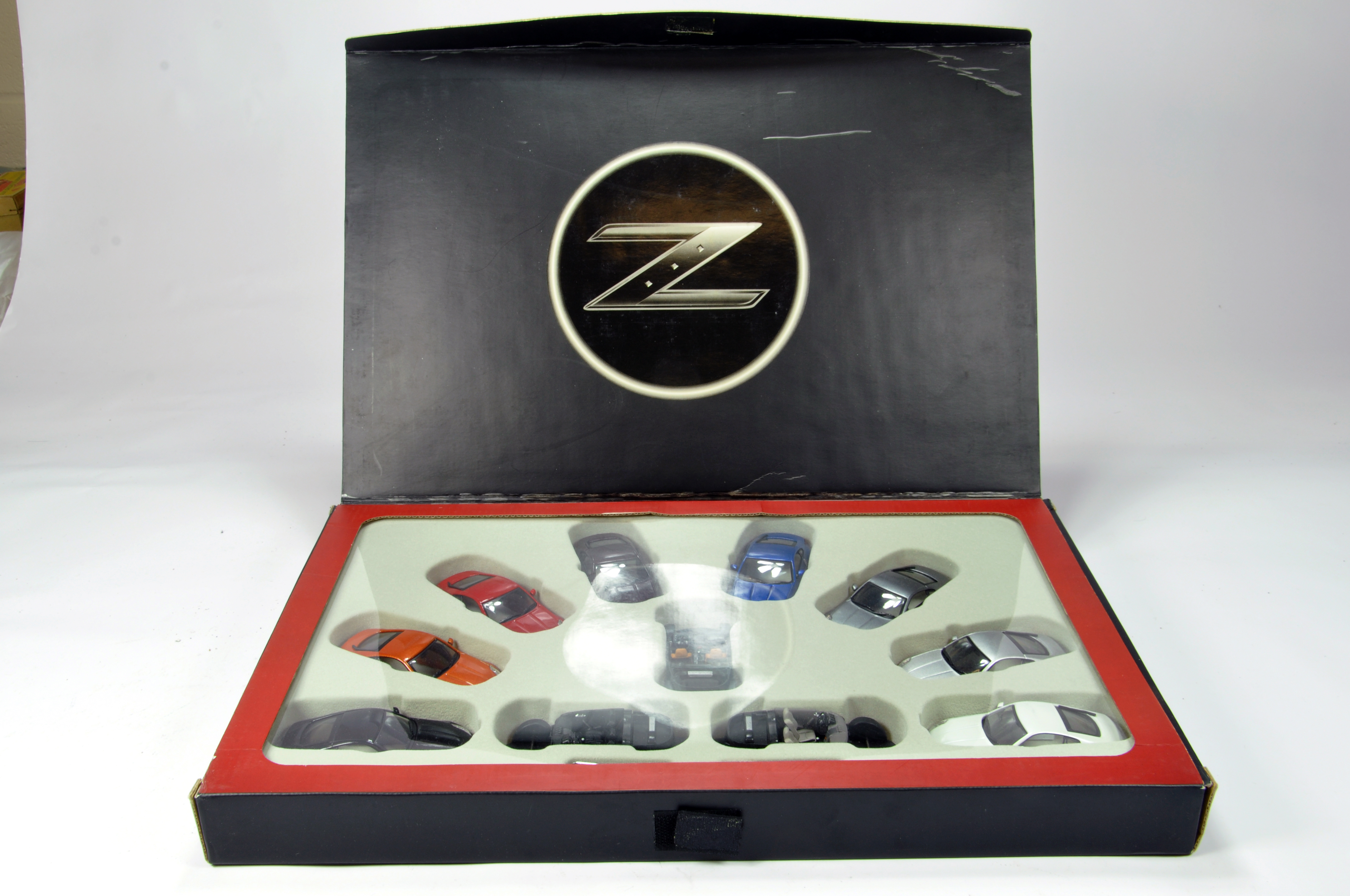 Lot 788 - J.COLLECTIONs 1/43 Presentation Set of Nissan 350Z Limited Edition. NM to M in Box.