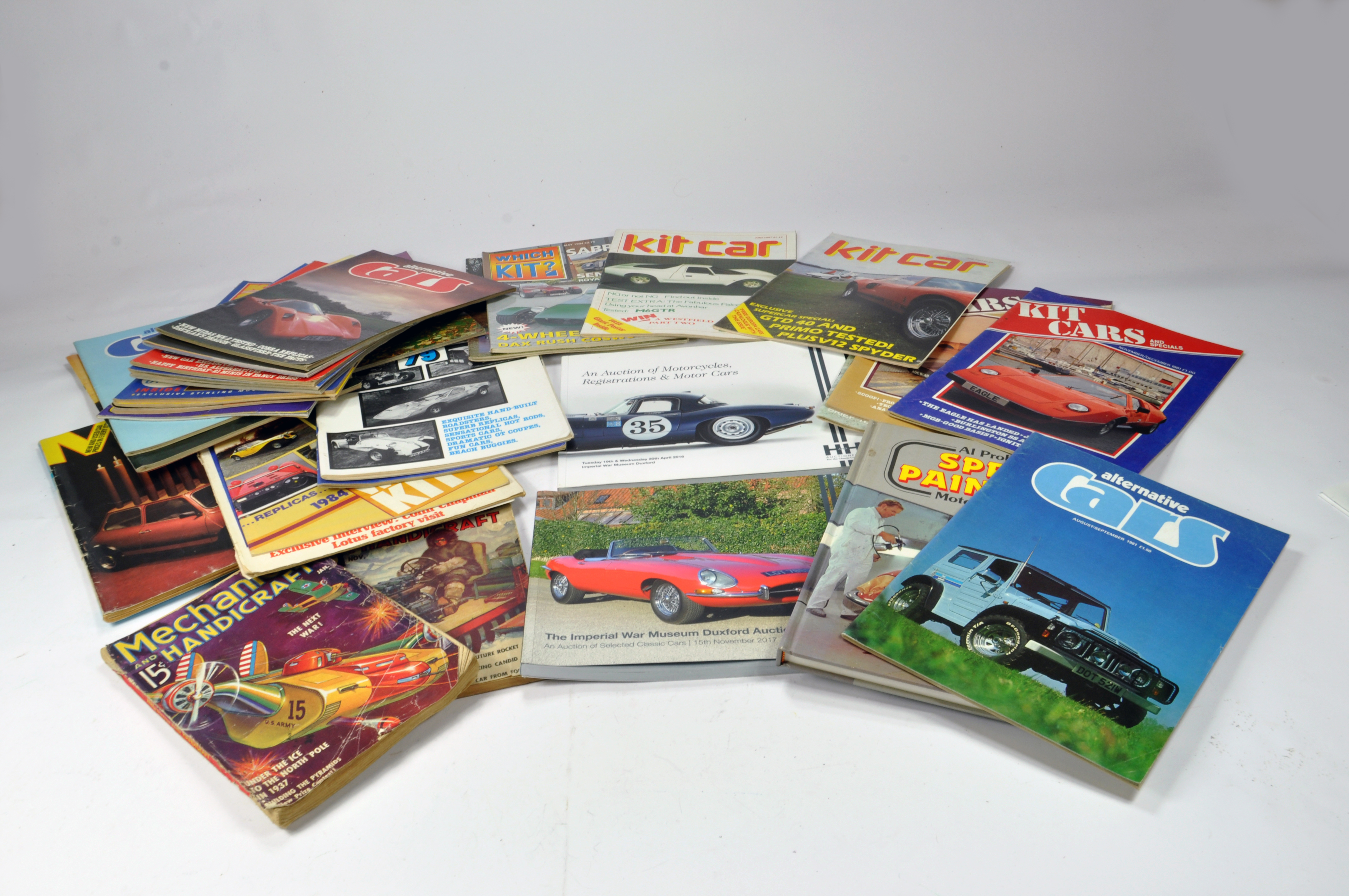 Lot 1147 - Various reference books relating to Cars and Transport with a general theme towards Kit Cars and
