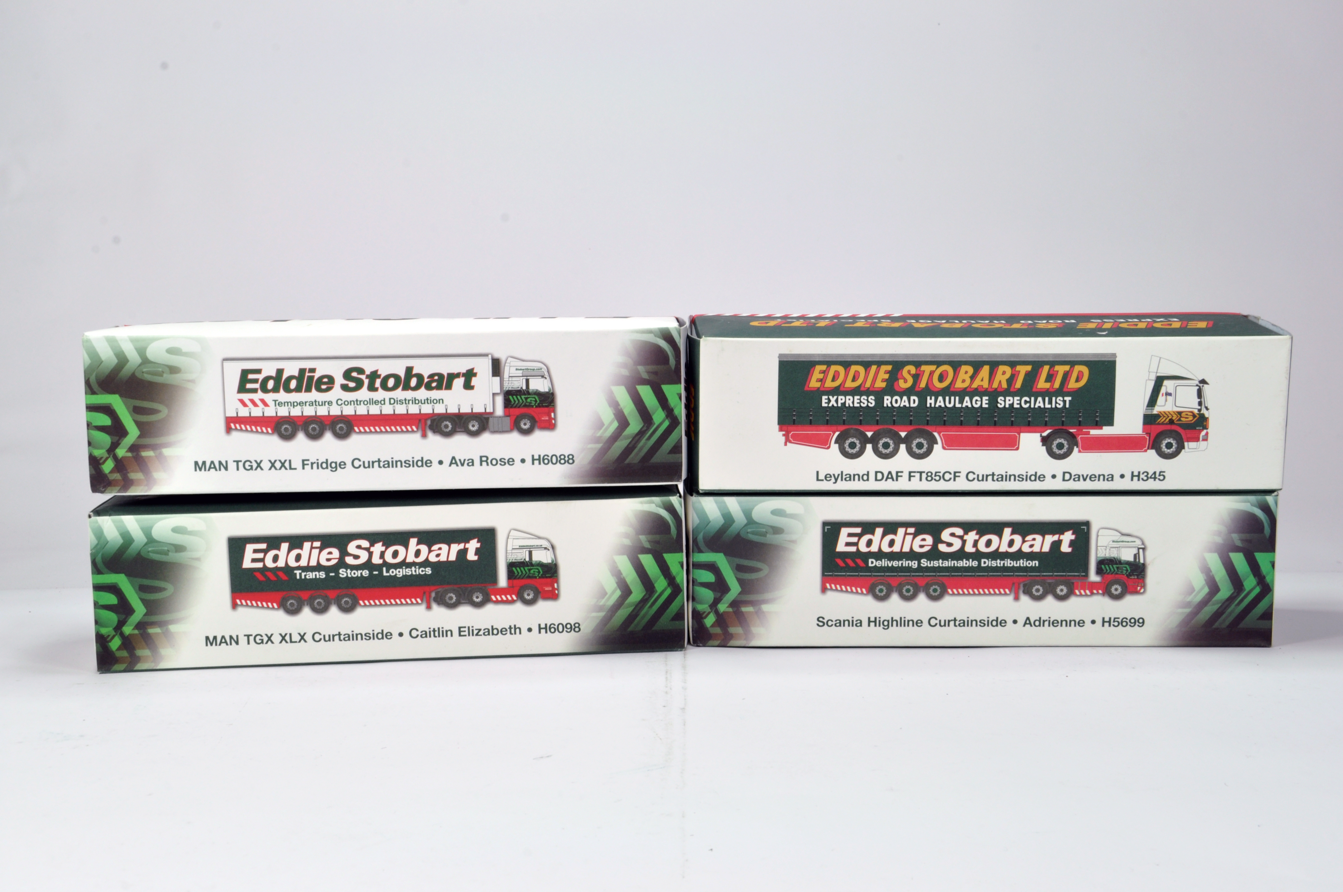 Lot 183 - Oxford Diecast 1/76 Commercial Diecast Construction Issue comprising Limited Edition Stobart