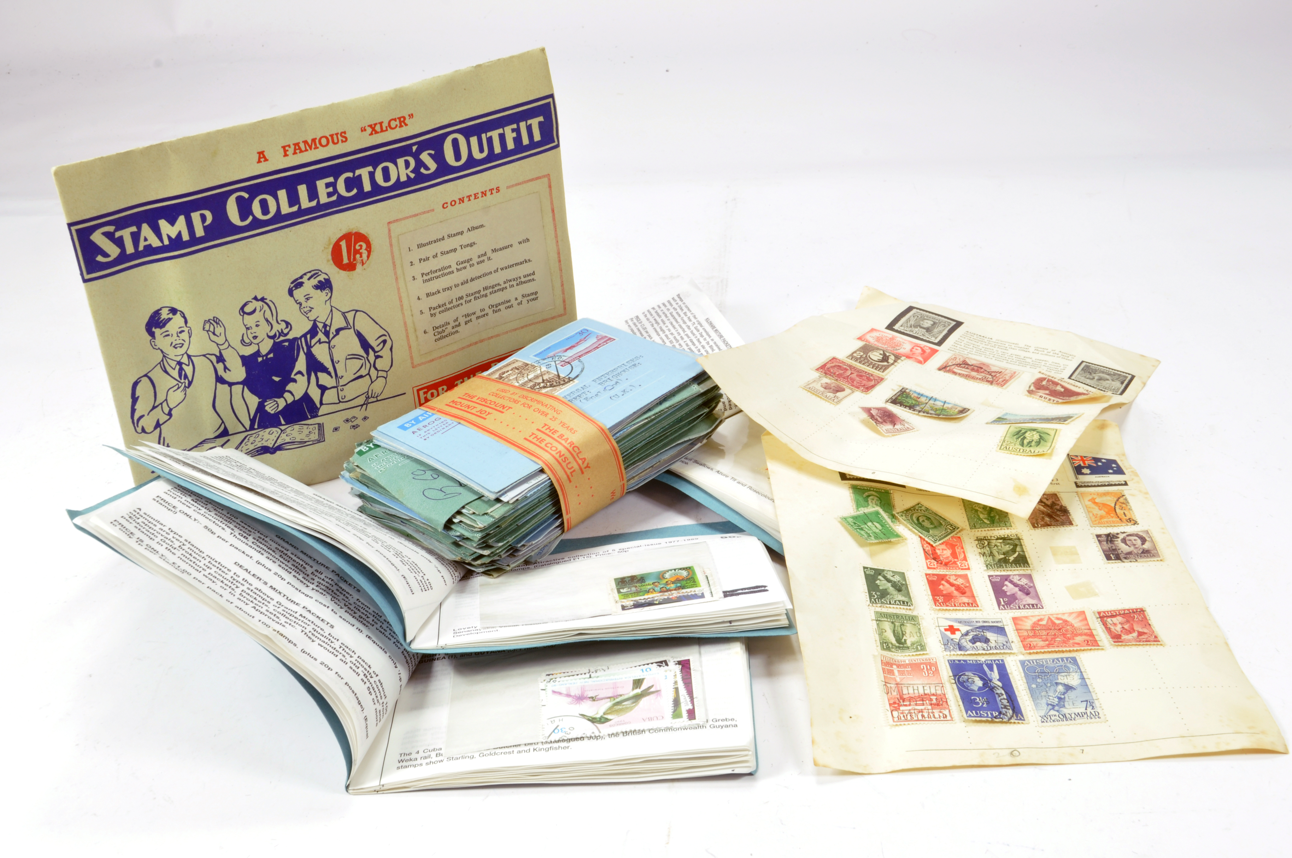 Lot 1175 - Group of postage stamps. Hundred of issues. Various countries. XLCR.
