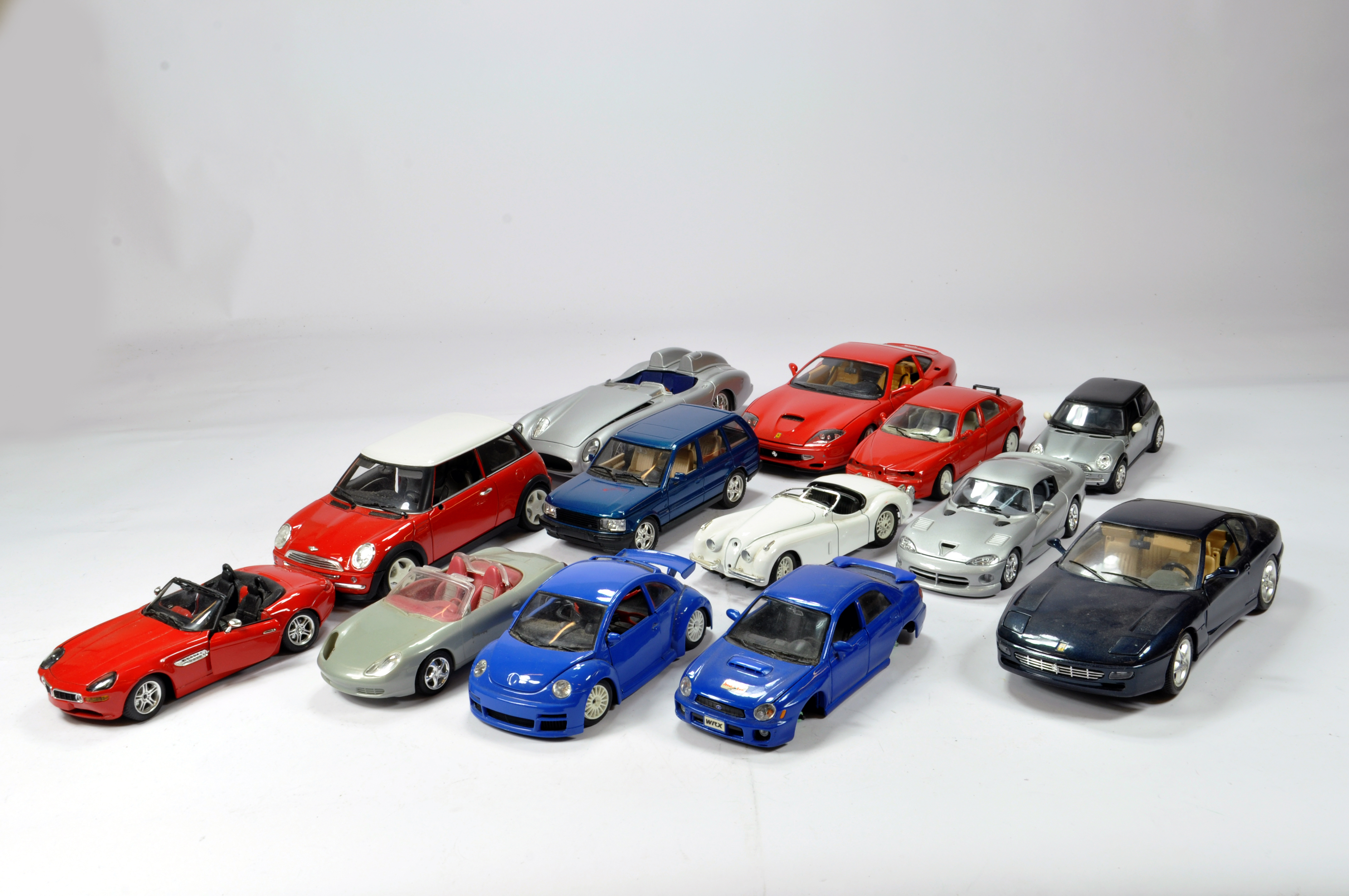 Lot 1169 - Assorted group of diecast cars, various issues. Generally F.