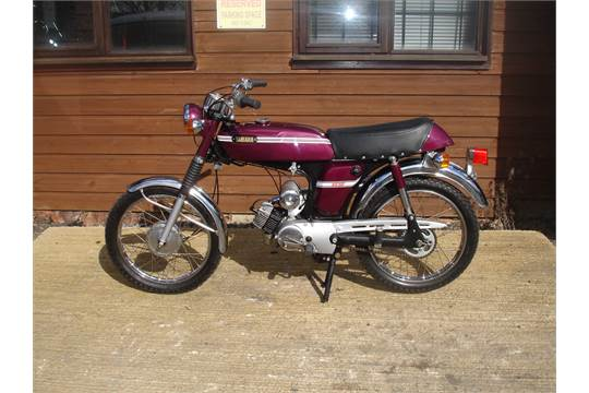 Yamaha Fs1 1973 Sports Moped 160 Restored A While Ago Using N O S