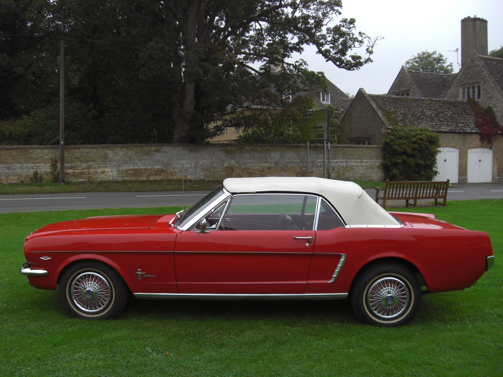 1965 Classed As 1964 1 2 Ford Mustang Convertible