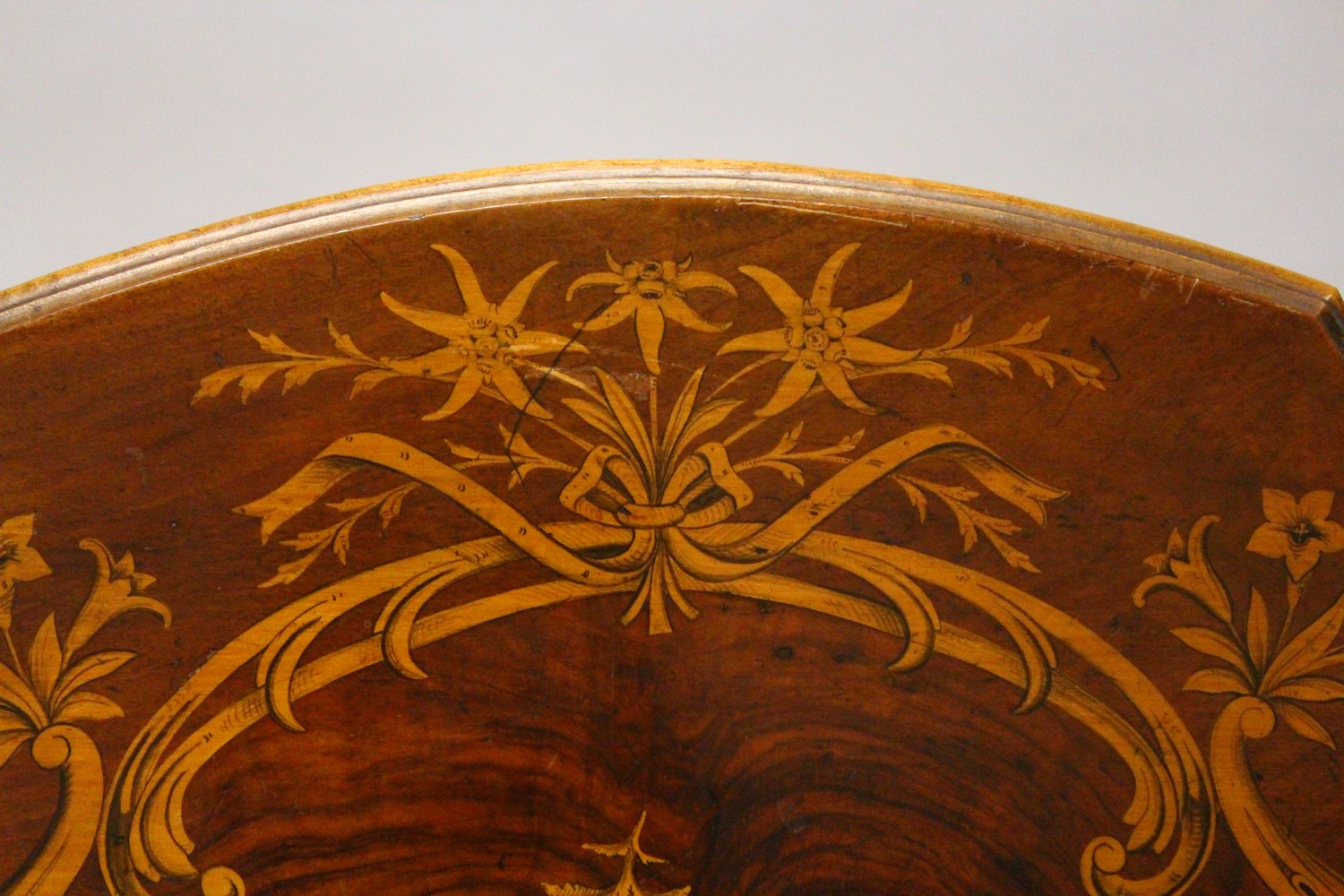 A LATE 19TH CENTURY BLACK FOREST INLAID TABLE. 2ft 1.5ins wide x 2ft 7ins high. - Image 4 of 14