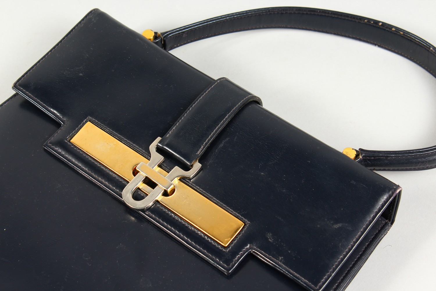 ALGERNON ASPREY, a ladies black leather handbag, and two other bags. - Image 13 of 16