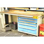 LOT/ ROUSSEAU 5 DRAWER TOOL BENCH WITH CONTENTS (550 MCARTHUR)