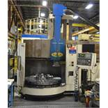TOSHIBA SHIBAURA (08-2006) TUE-15 CNC VERTICAL BORING AND LIVE MILLING CENTER WITH FANUC SERIES 18-T
