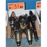 LOT/ (5) CAT 50 TOOL HOLDERS (550 MCARTHUR)