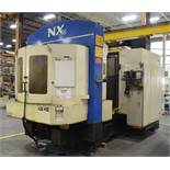 TOSHIBA SHIBAURA (12-1998) NX76 CNC TWIN-PALLET HORIZONTAL MACHINING CENTER WITH FANUC CNC