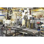 KEARNS & RICHARDS (R&R 2002) 125L CNC TABLE TYPE HORIZONTAL BORING MILL WITH FANUC 18I-M 5 AXIS