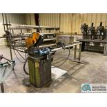 """14"""" SCOTCHMAN MODEL 350LT/PK/RD COLD SAW; S/N 32301095 WITH CONVEYOR"""