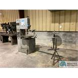 """18"""" GROB MODEL NS18 VERTICAL BAND SAW; S/N 6217, WITH BAND WELDER"""