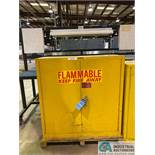30 GAL. CAP. EAGLE FLAMMABLE MATERIAL CABINET
