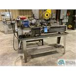 """12"""" X 36"""" JET MODEL 1236PY ENGINE LATHE; S/N L82-08-180, 6"""" 3-JAW CHUCK, SPINDLE SPEED 60-1240 RPM"""