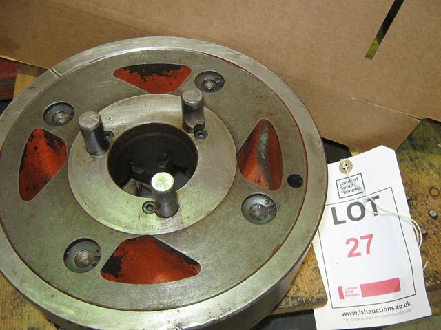 """Lot 27 - Colchester 4 jaw chuck, 10"""" diameter D1-4"""
