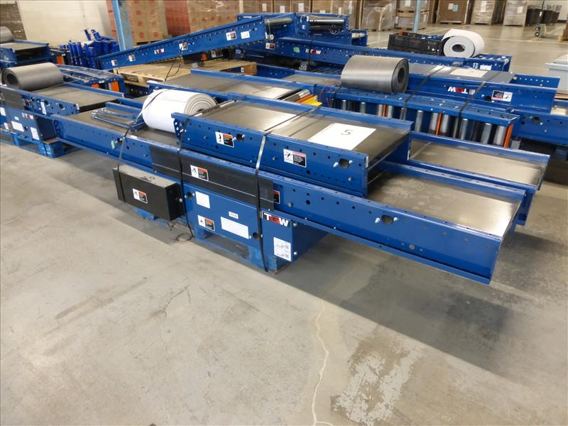 Lot 1 - Approx. 300 ft of conveyor, 18 in width
