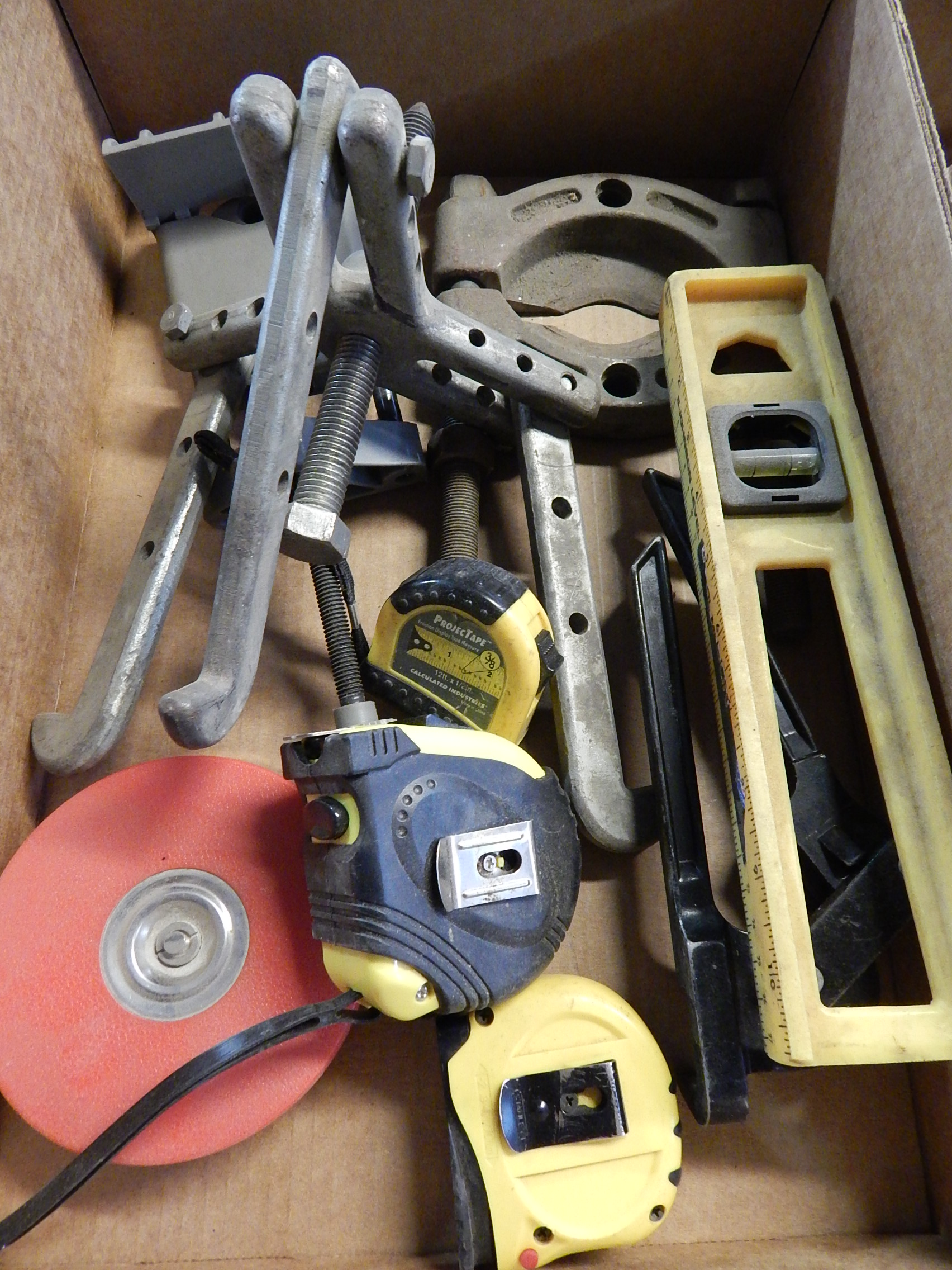 Lot 24 - Gear Puller, Bearing Puller and Misc. Tools