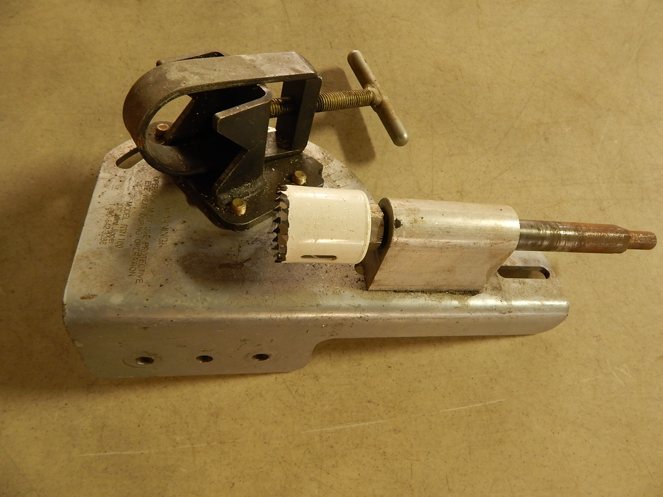 Lot 7 - Old Joint Jigger Model RNT100 Pipe Drilling Fixture