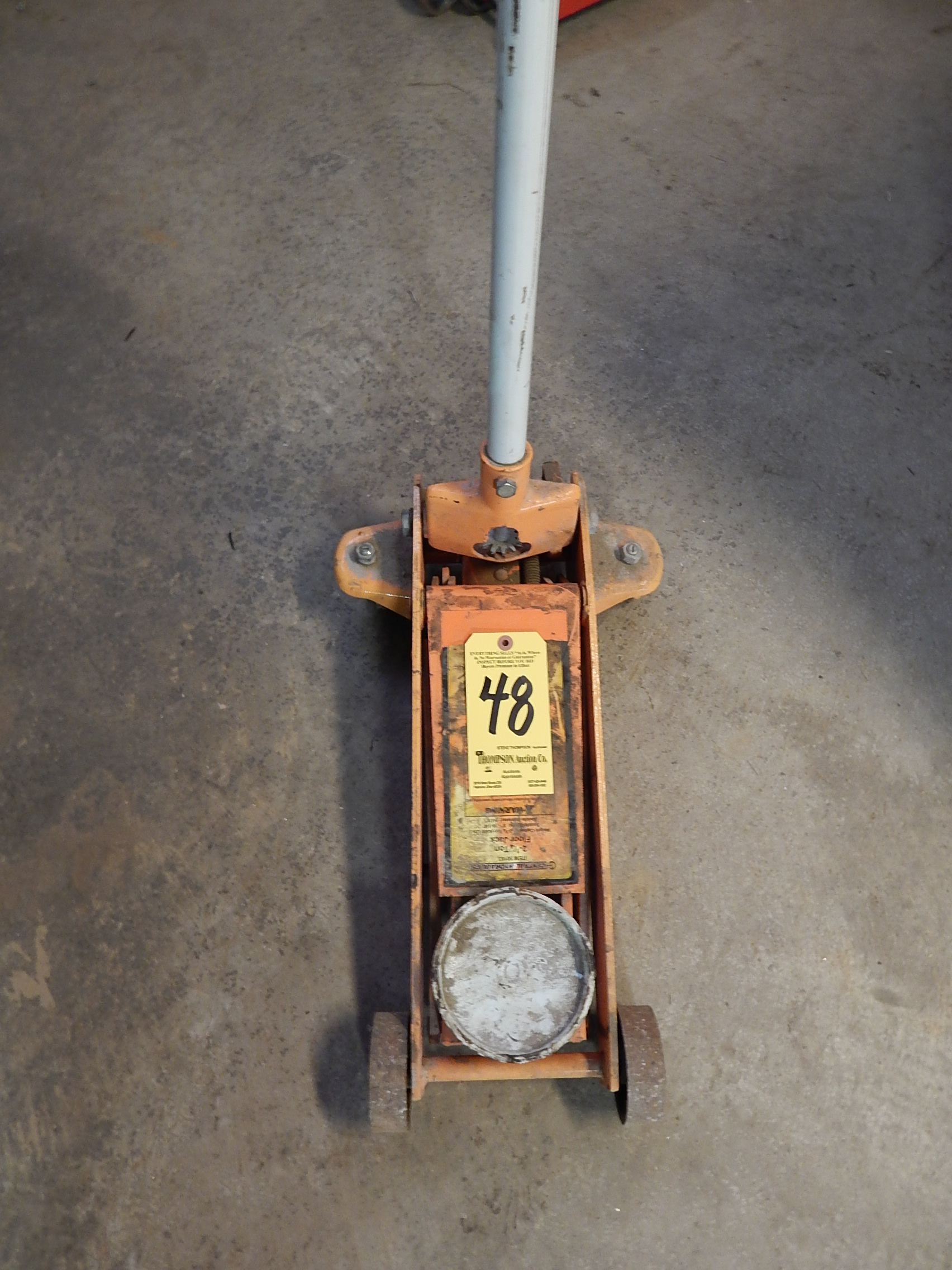 Lot 48 - Central Hydraulic 2 1/4 Ton Floor Jack