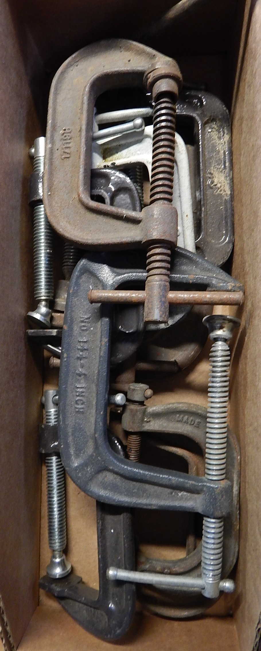 Lot 13 - C-Clamps