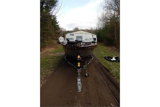 2012 Tracker Targa V18 Combo Deep V Aluminum Hull Fishing