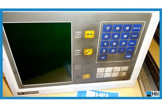 newall digipac 5 twin axis dro counter comprises beam digital unit rh bidspotter co uk