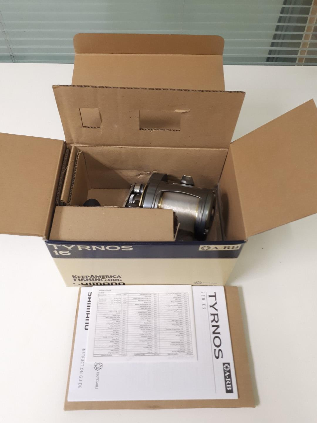 Lot 049 - Shimano Tyrnos 16 Fishing Reel (New In Box)