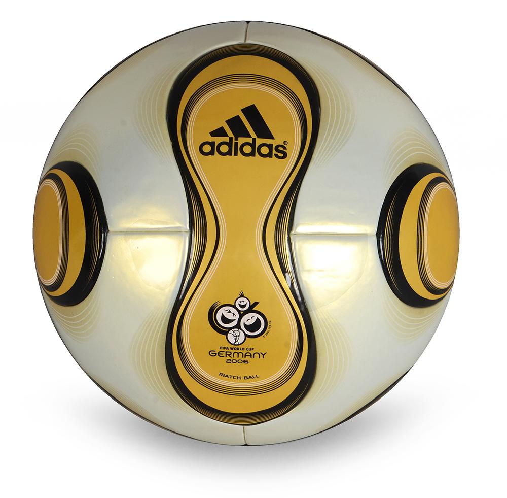 Ballon officiel de la finale de la coupe du monde 2006 en allemagne mod le adidas teamgeist vic - Coupe du monde de foot 2006 ...
