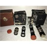 Siemens 16mm Model D cine camera outfit,