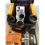 Bell & Howell 200EE 'electric eye' 16mm cine camera,
