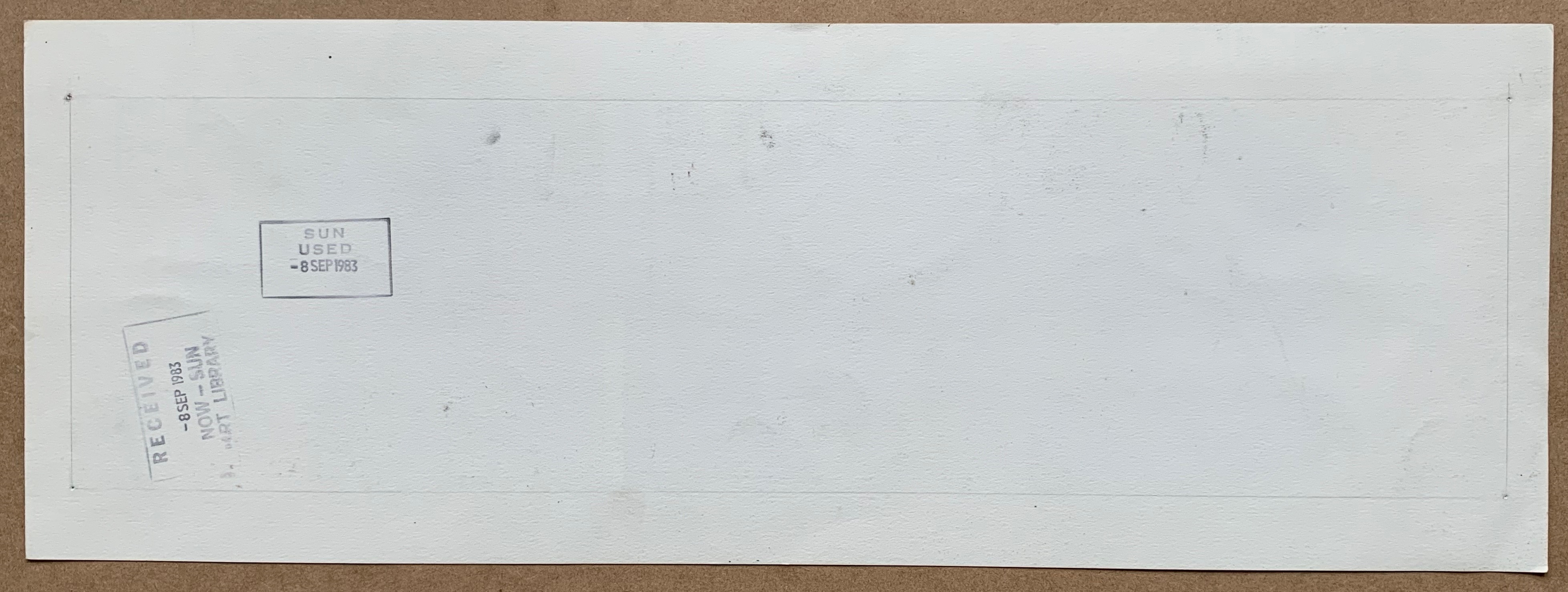 Lot 1626 - AXA (1983) - ORIGINAL ARTWORK by ROMERO, Enrique B