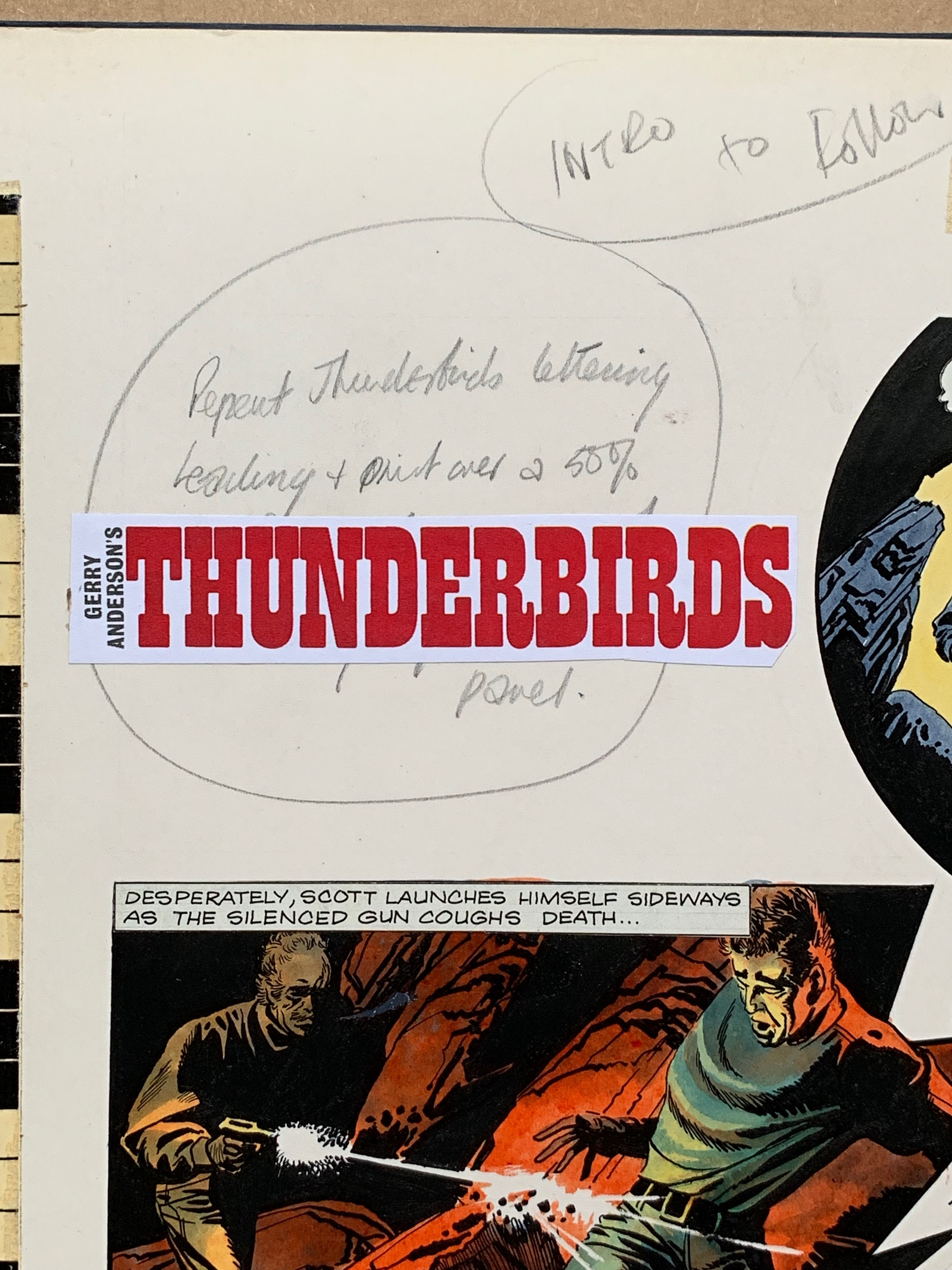 THUNDERBIRDS (1969) - ORIGINAL ARTWORK from TV21 C - Image 2 of 7