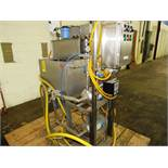 """Chad Automated Wash System, 17"""" W X 24"""" L X 17"""" D stainless steel tank, (2) Grundfos Mdl. 1X1 1/4-"""