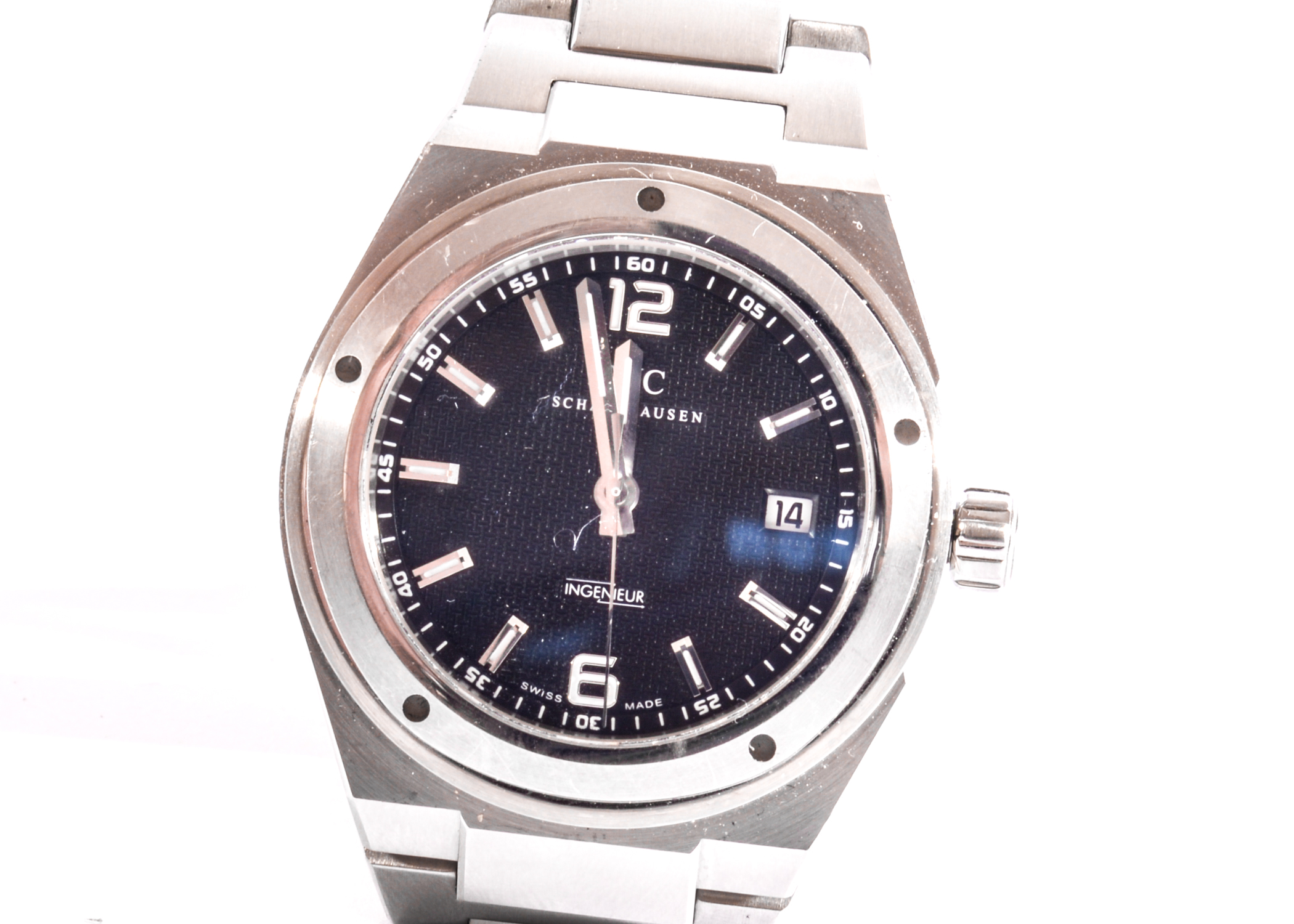 Lot 2 - An IWC SCHAFFHAUSEN Model IW 3227 Ingenieur Wrist Watch with Automatic Movement, 42.50mm,