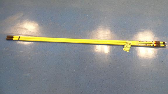 Lot 56 - MR LONG ARM TELESCOPIC PAINT POLES (X2)