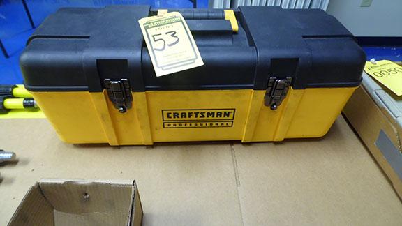 Lot 53 - CRAFTSMAN TOOL BOX