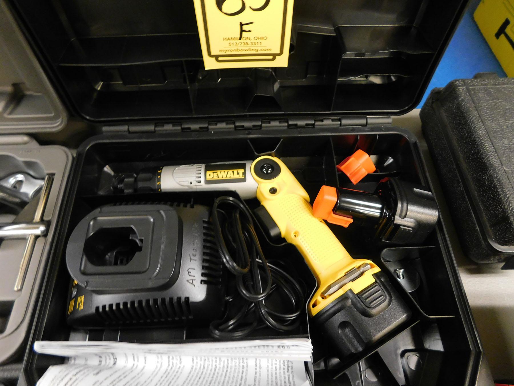 Lot 65F - DEWALT 7.2V CORDLESS SCREW DRIVER