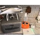 DJI PHANTOM 4 DRONE WITH 2 x BATTERIES + REMOTE + BOX
