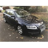 SOLD BY ORDER OF SOLICITOR: AUDI A6 ESTATE 3.0 TDI AUTO 06/06 REG - NO RESERVE