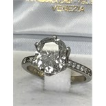 APPROX 3.5ct DIAMOND SOLITAIRE RING