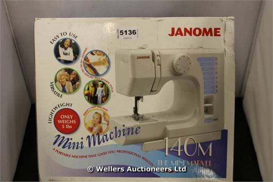 40 X JANOME 4040M THE MINI MARVEL SEWING MACHINE GRADE UNCLAIMED Magnificent Marvel Sewing Machine