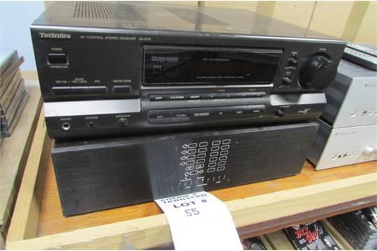 Technics sa-g76 manual audio video receiver hifi engine.