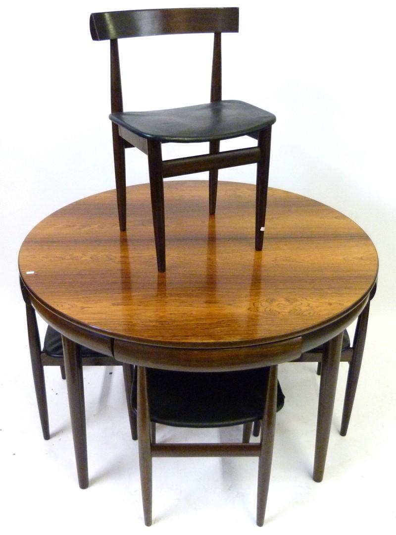 An excellent quality frem rojle hans olsen danish rosewood for Table 8 beeston