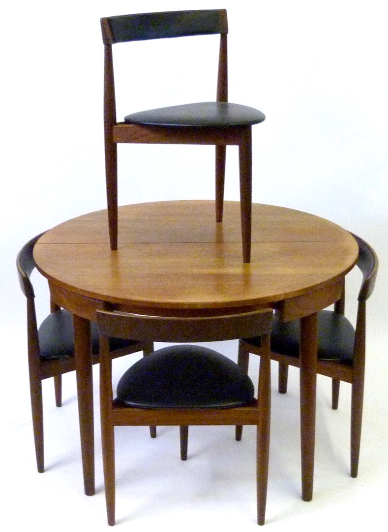 A frem rojle hans olsen danish rosewood dining table with for Table 8 beeston